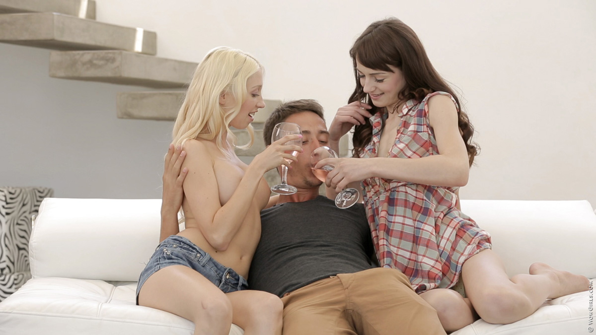 Wow Girls Anjelica, Nancey & Aimee Ryan in Who Let The Dogs Out? 1
