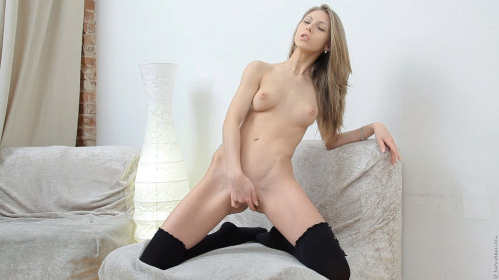 Wow Girls Anjelica in Black Stockings 6